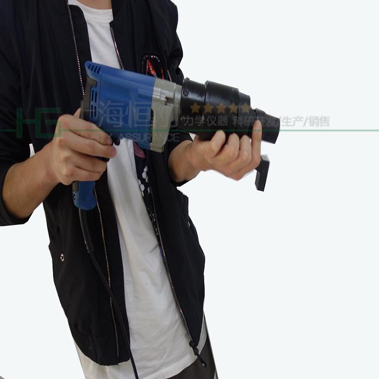 蓝色枪式电动定扭矩扳手